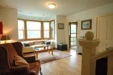Hawk Mountain Lodge living room