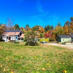 Hawk Mountain Lodge front yard