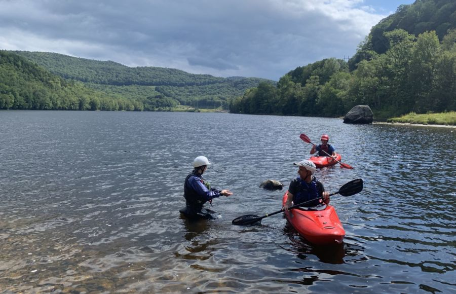 Whitewater Rolling Instruction